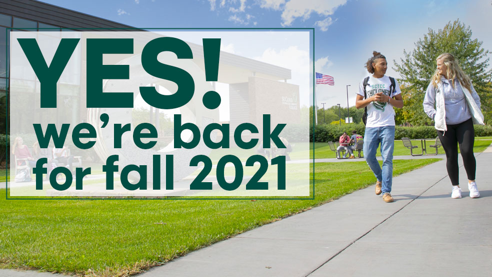 Yes we're back for fall 2021