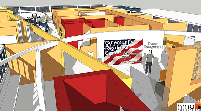 Homefront Resource Center Rendering