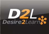 D2L log-in page button