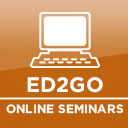 Access Ed2Go website for online seminars.
