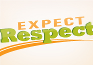 Expect Respect webpage button
