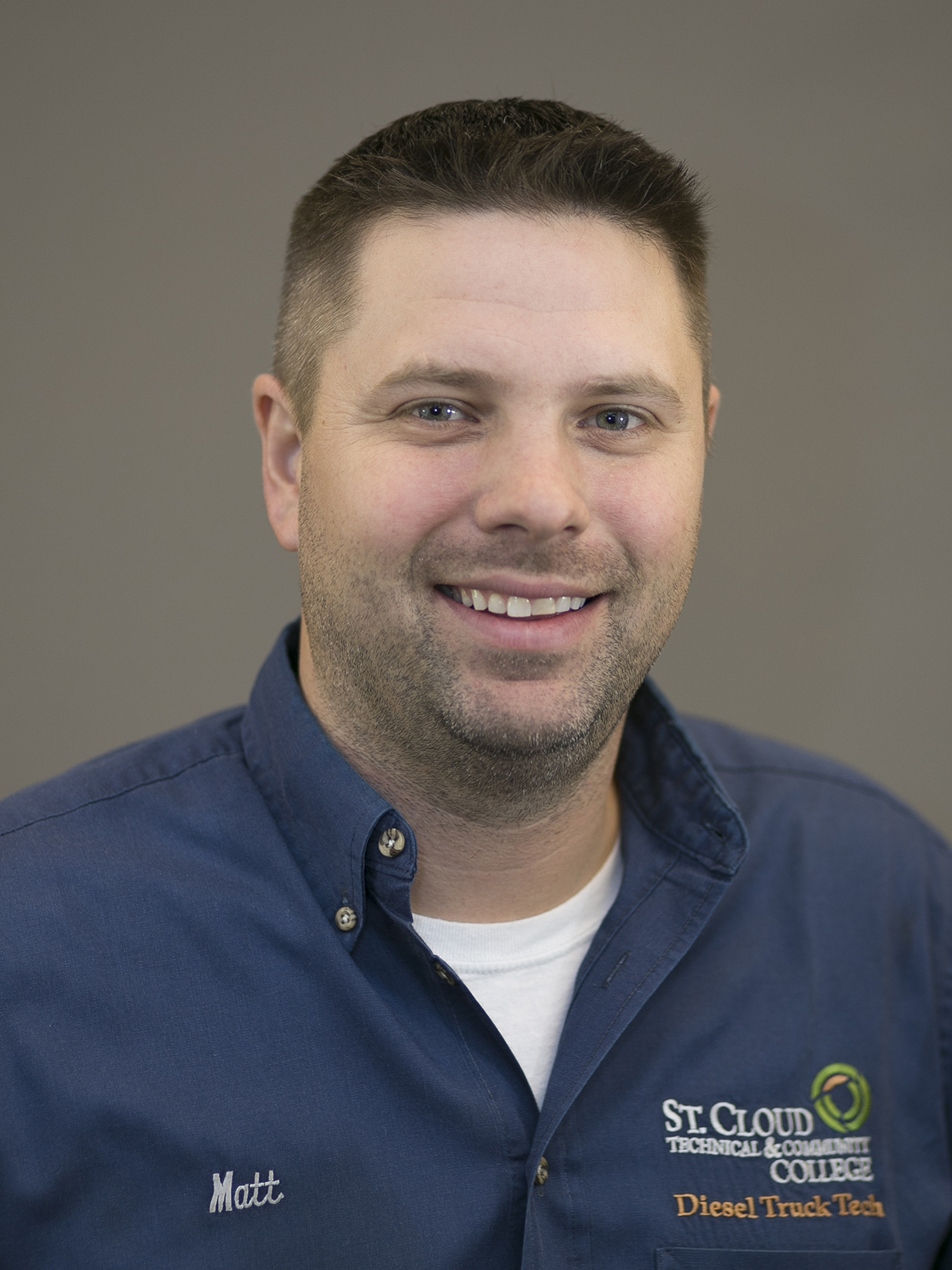 Matthew Hoepner, Medium/Heavy Truck Technician Instructor