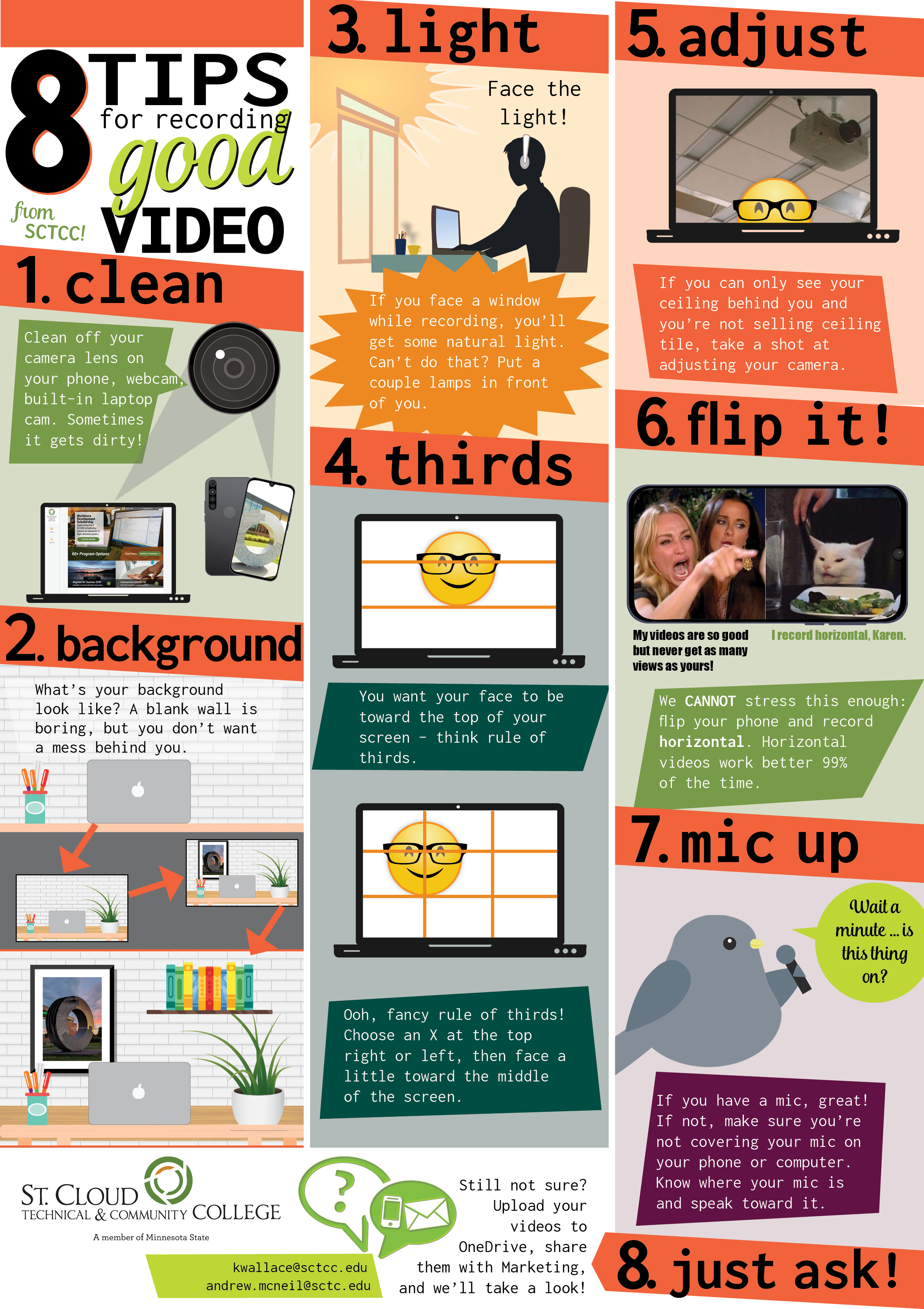 8 tips for good video