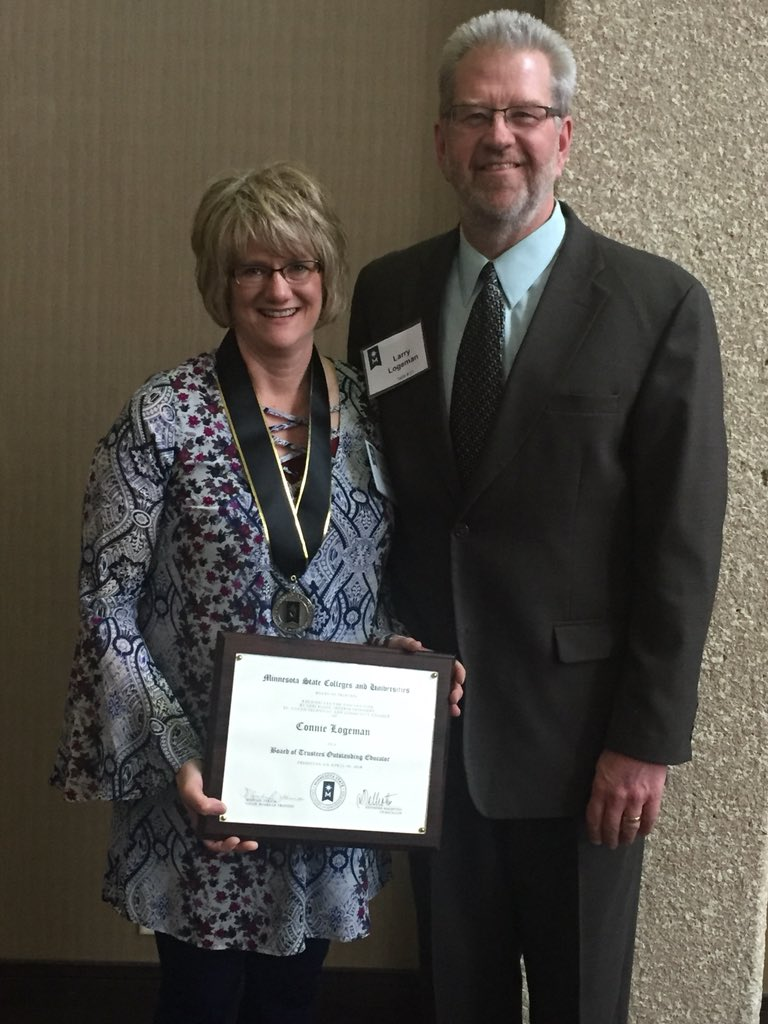 Connie Logeman Outstanding Educator