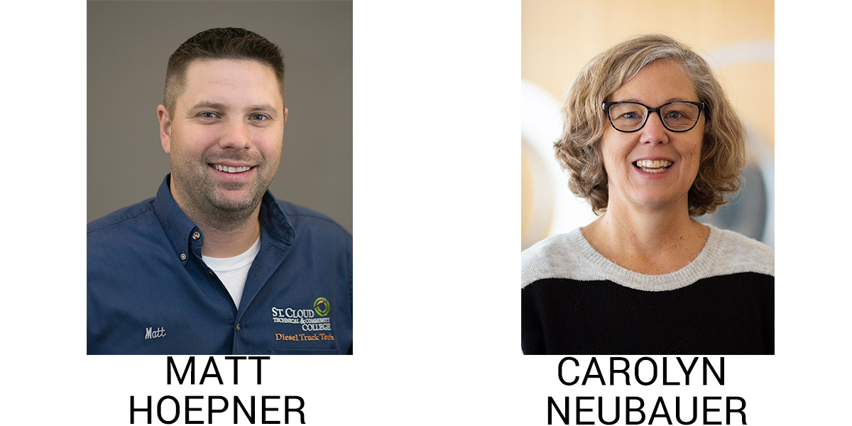 Hoepner and Neubauer headshots