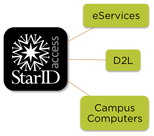 eServices, D2L, and campus computers