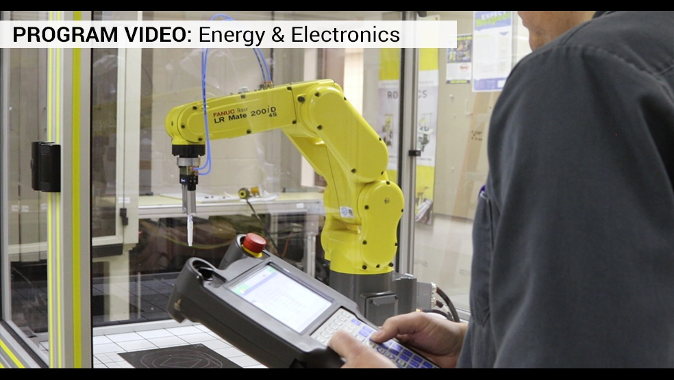 Energy and Electronics Video Frame