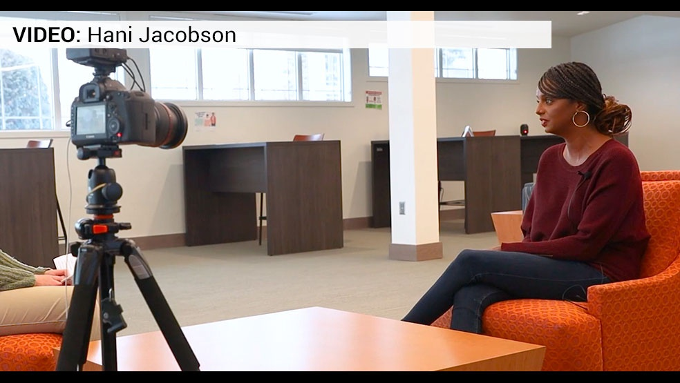 Hani Jacobson interview video