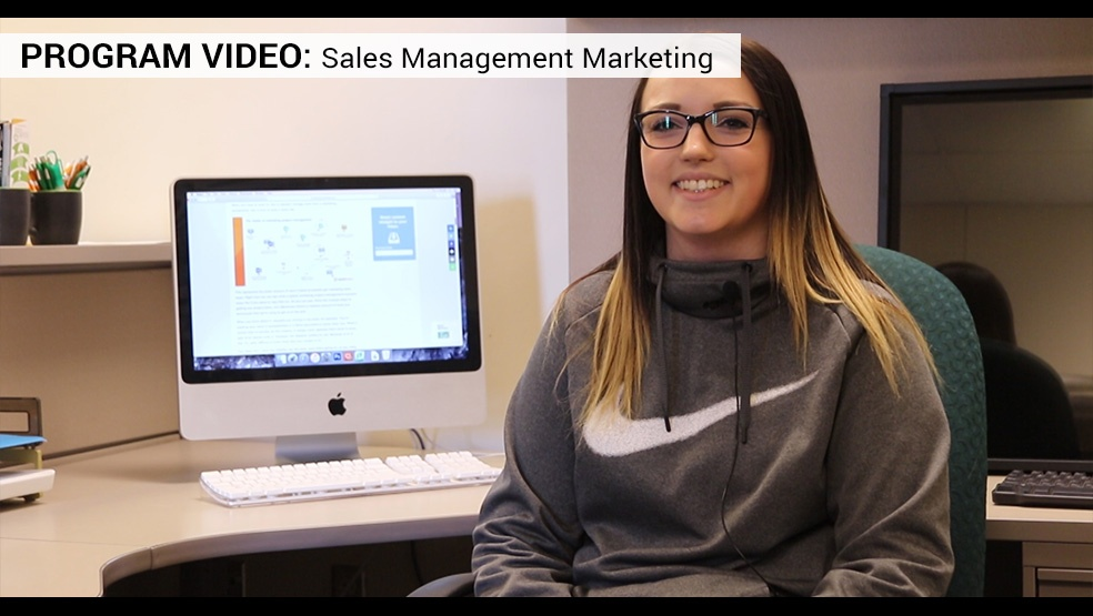 Sales Management Marketing Video Frame