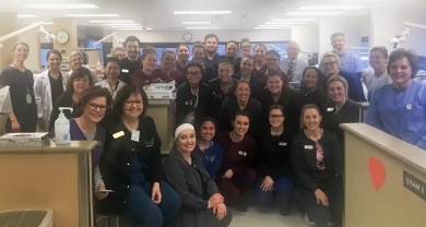 Dental Hygiene and Assisting students at Give Kids a Smile event