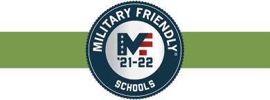Military Friendly logo 2021-22