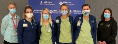 Practical Nursing students in Onamia