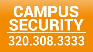 Security's phone number 320-308-3333