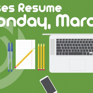 Classes Resume March 30