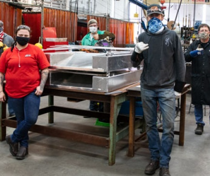 Welding after pandemic