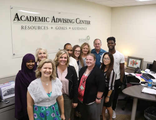 The Academic Advising team