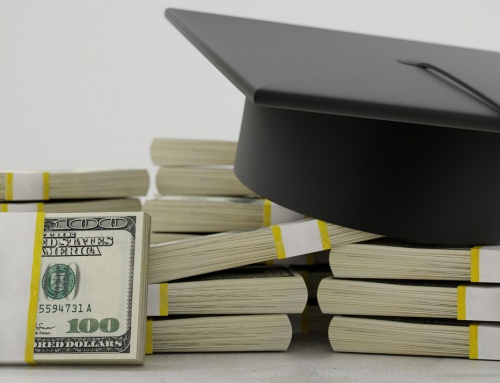 Money and mortarboard