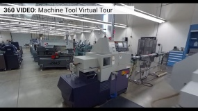Large CNC Machines in video frame