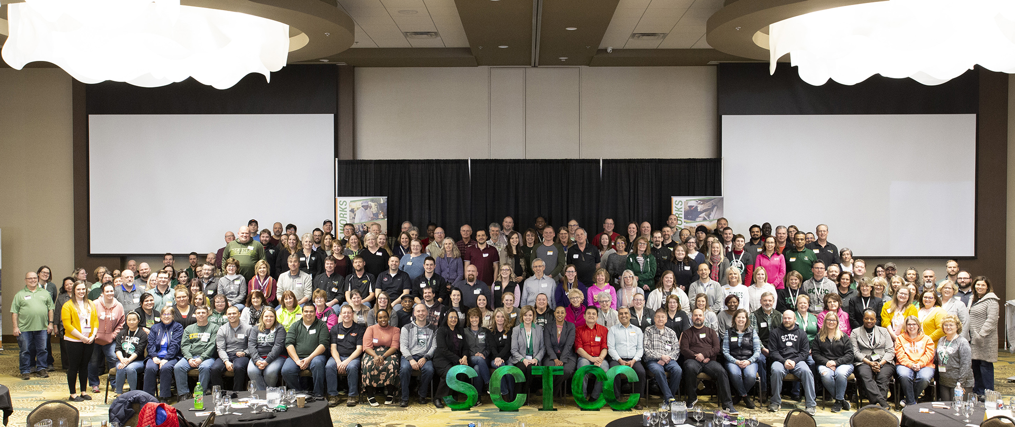 SCTCC staff and faculty at Future Summit event 2020